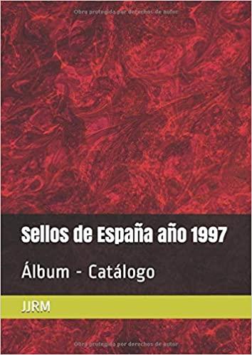 Álbum Catálogo de sellos España 1997