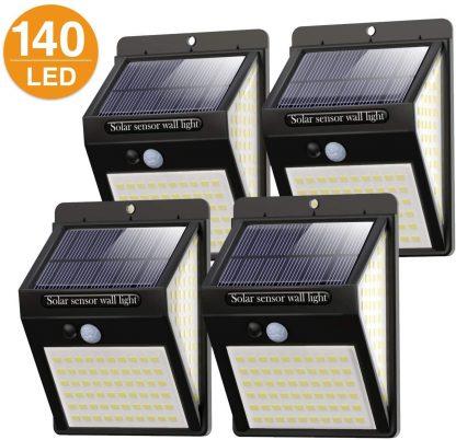 Luz solar exterior pack de 4