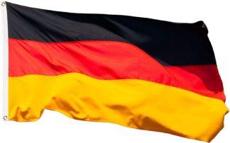 Bandera de Alemania 90 x 150 resistente a la intemperie